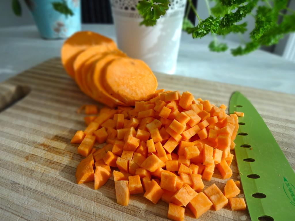 Sweet Potato Cubes - Süßkartoffelwürfel