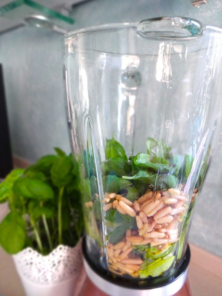 Avocado Basil Pesto