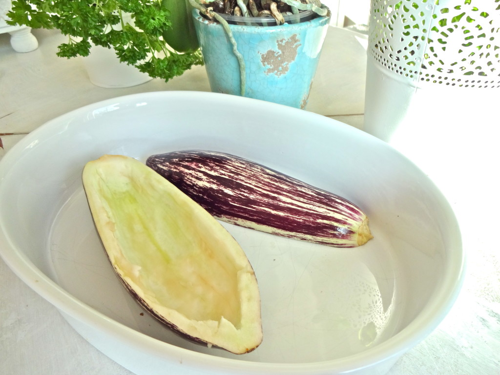 Stuffed Eggplants - Gefüllte Auberginen