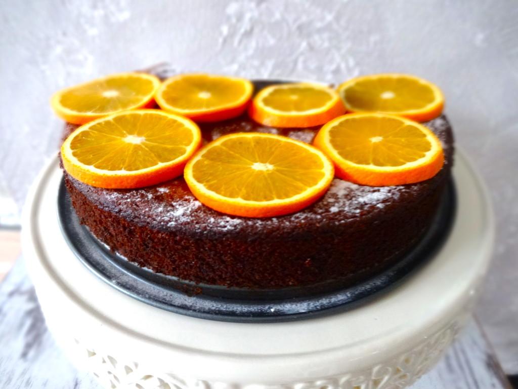 Spanish Almond Orange Cake