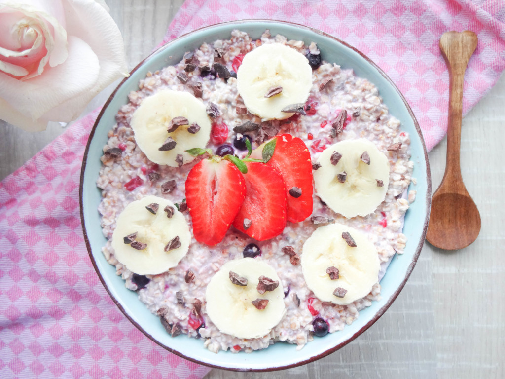 Heavenly Overnight Oats