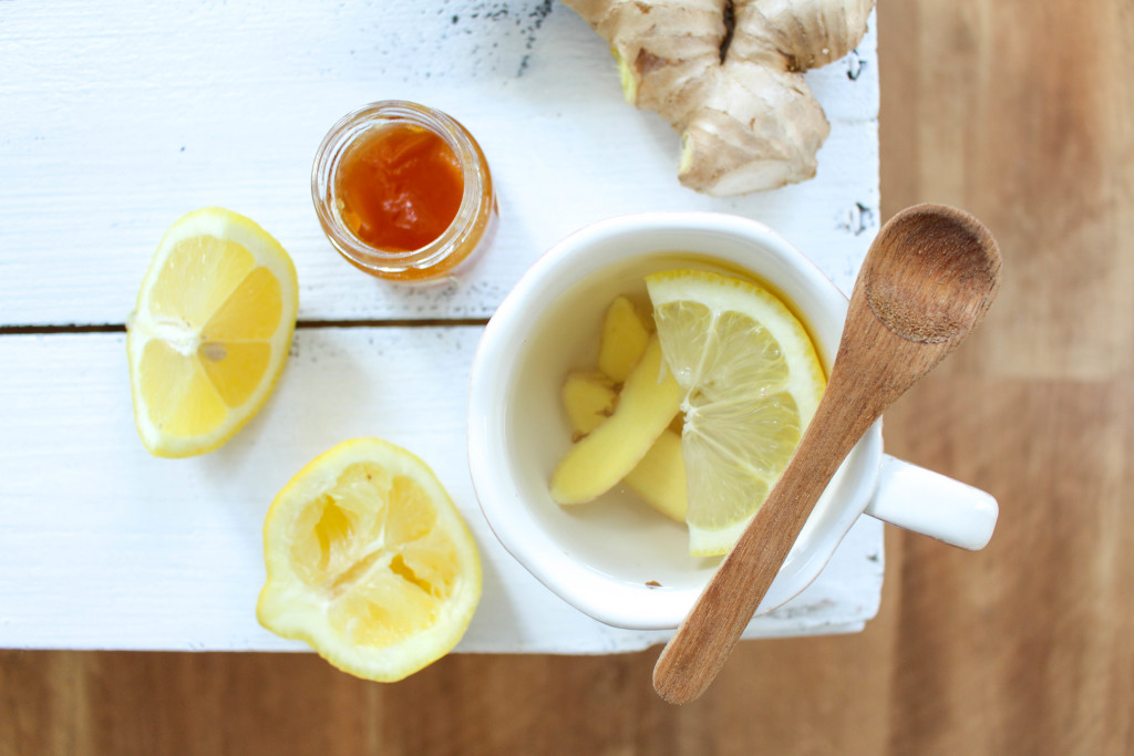 Ginger Lemon Tea
