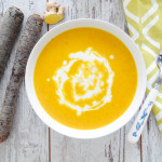 Carrot Coconut Mango Soup