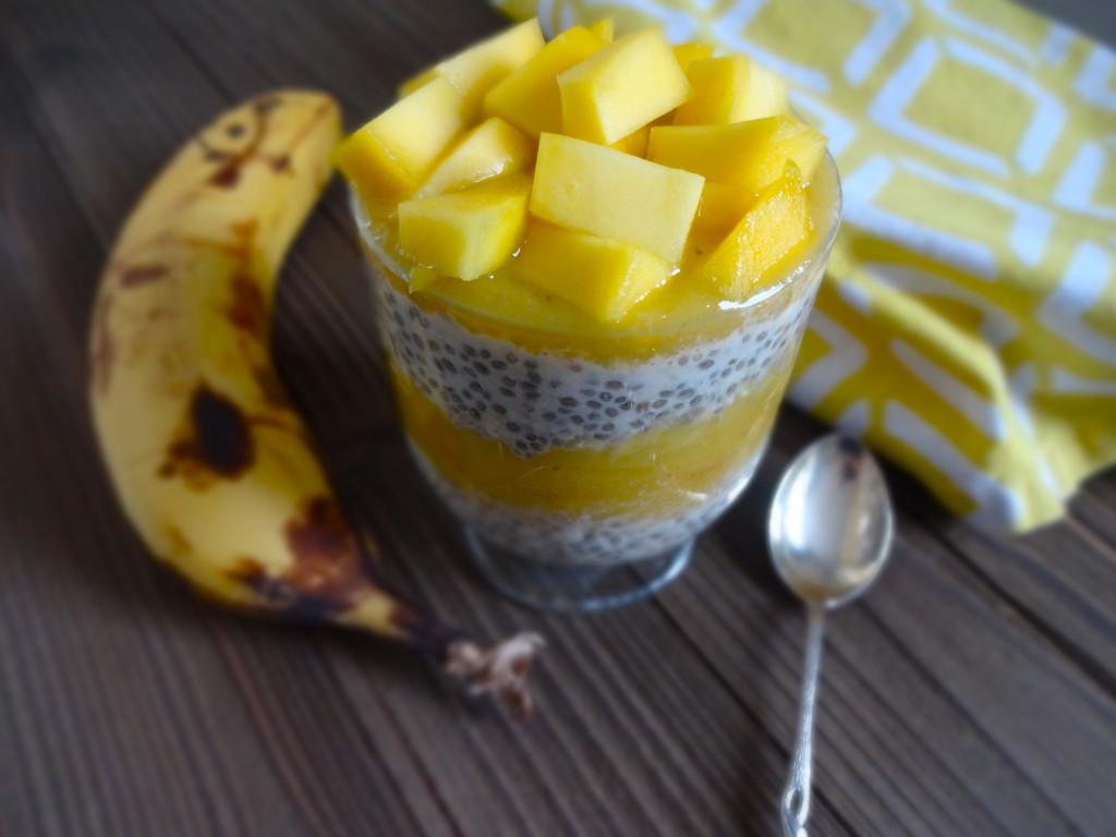 Mango Chia Parfait