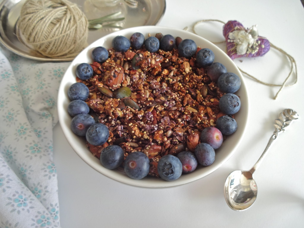 Blueberry Millet Granola