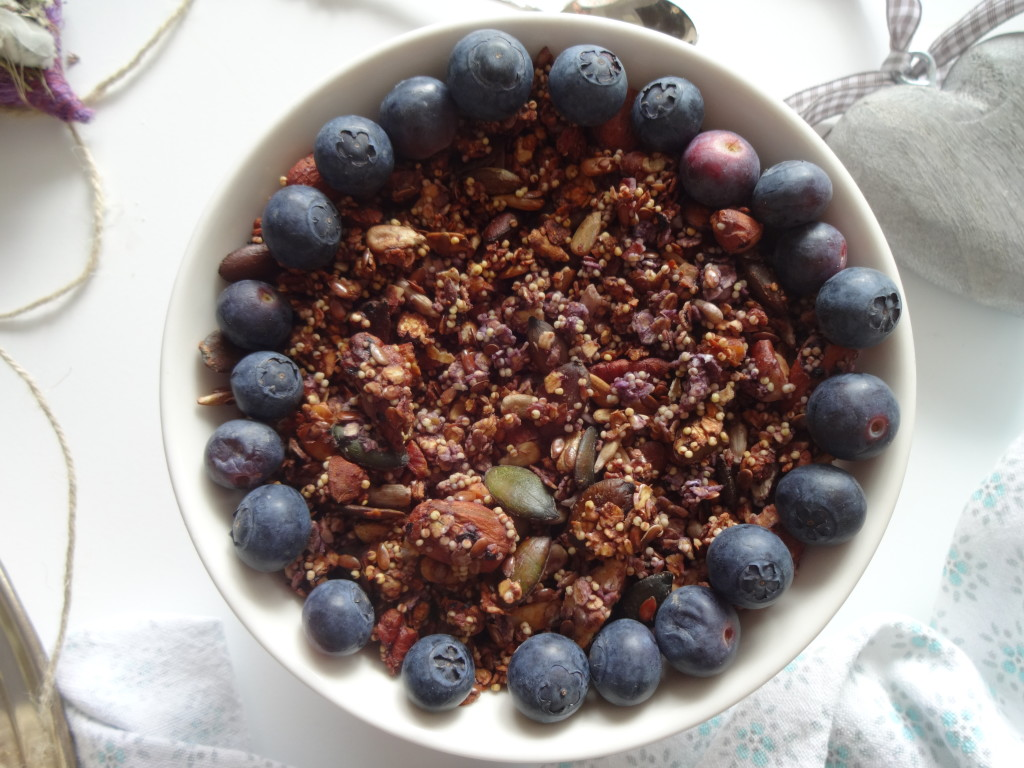 Blueberry Millet Granola