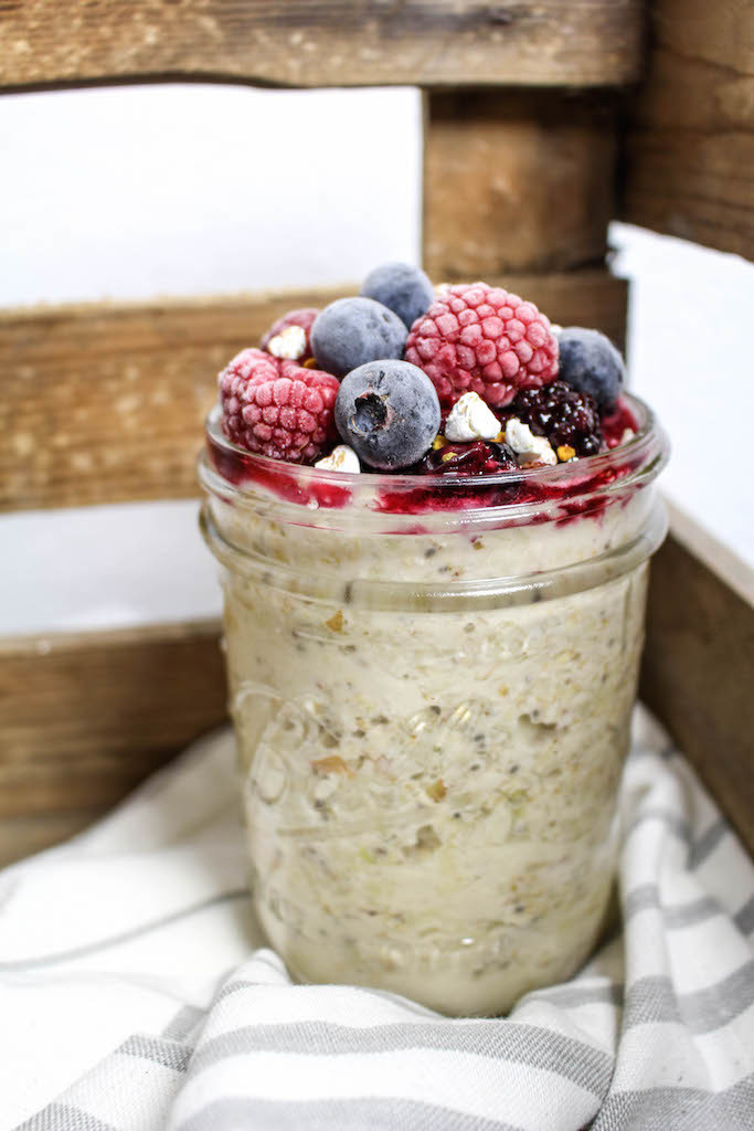 Healthy Bircher Muesli - plant based, vegan, gluten free, refined sugar free - heavenlynnhealthy.com