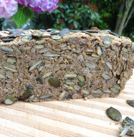 Chia Superfood Bread - dairy-free, vegan, gluten-free, refined sugar-free