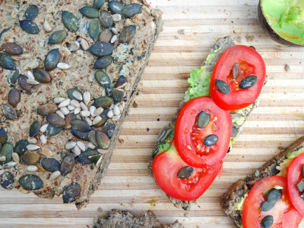 Chia Superfood Bread - dairy-free, vegan, gluten-free, refined sugar-free