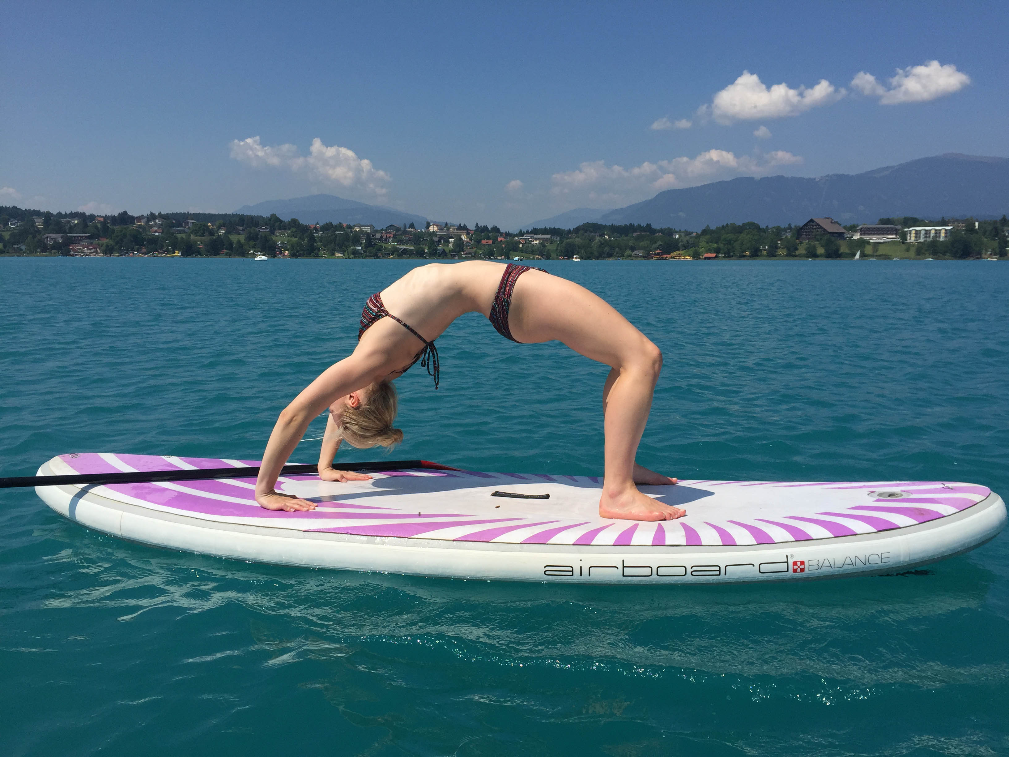Fitness: Stand Up Paddling – SUP Yoga