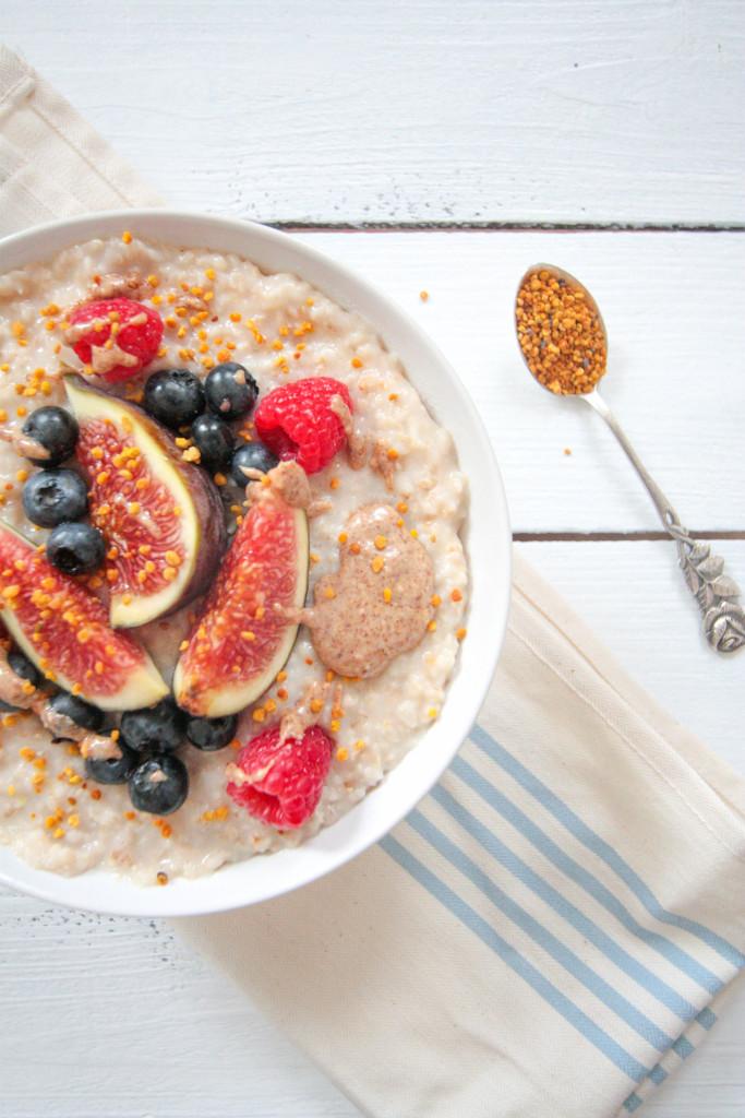 Coconut Porridge - plant based, vegan, gluten free, refined sugar free