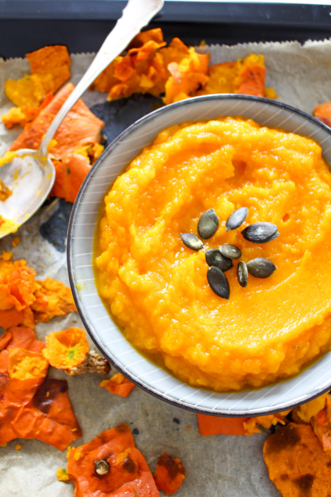 Pumpkin Brownies - vegan, gluten free, plant-based