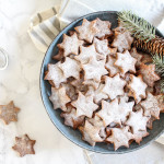 Healthy Almond and Cinnamon Christmas Stars - plant based, gluten free, healthy, refined sugar free - heavenlynnhealthy.com