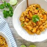 Sweet Potato Risotto - plant based, gluten free, vegan, refined sugar free - heavenlynnhealthy.com