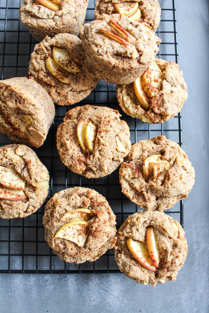 Healthy Apple-Cinnamon Muffins - plant based, vegan, vegetarian, refined sugar free, gluten free - heavenlynnhealthy.com