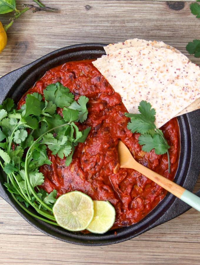 Quick Black Bean Chili by Niki - vegan, plant based, gluten free, refined sugar free, healthy - heavenlynnhealthy.com