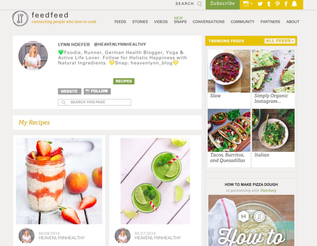 Heavenlynn Healthy Press - FeedFeed