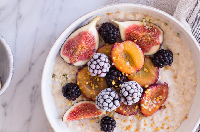 Spiced Fall Porridge - vegan, plant based, gluten free, refined sugar free, healthy - heavenlynnhealthy.com