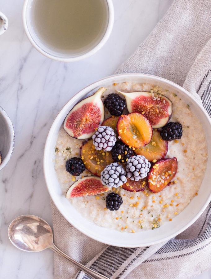 Spiced Fall Porridge - vegan, plant based, gluten free, refined sugar free, healthy - heavenlynnhealthy.com