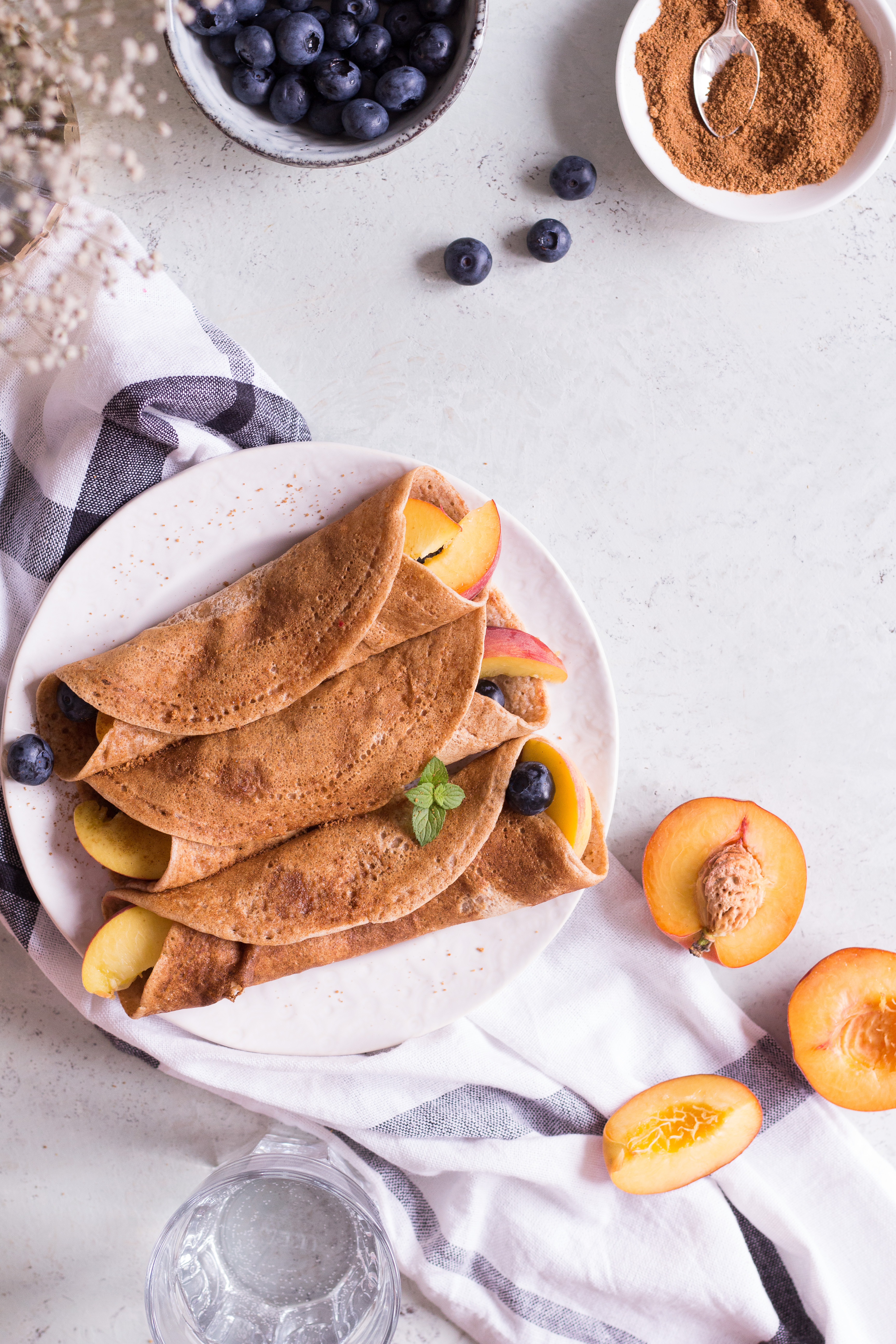 The best healthy crepes