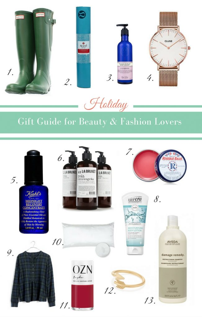 2016 Gift Guide for Beauty & Fashion Lovers - heavenlynnhealthy.com