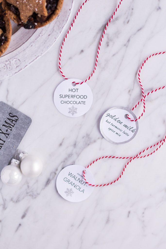 Edible DIY Gifts (+printable gift tags!) - heavenlynnhealthy.com