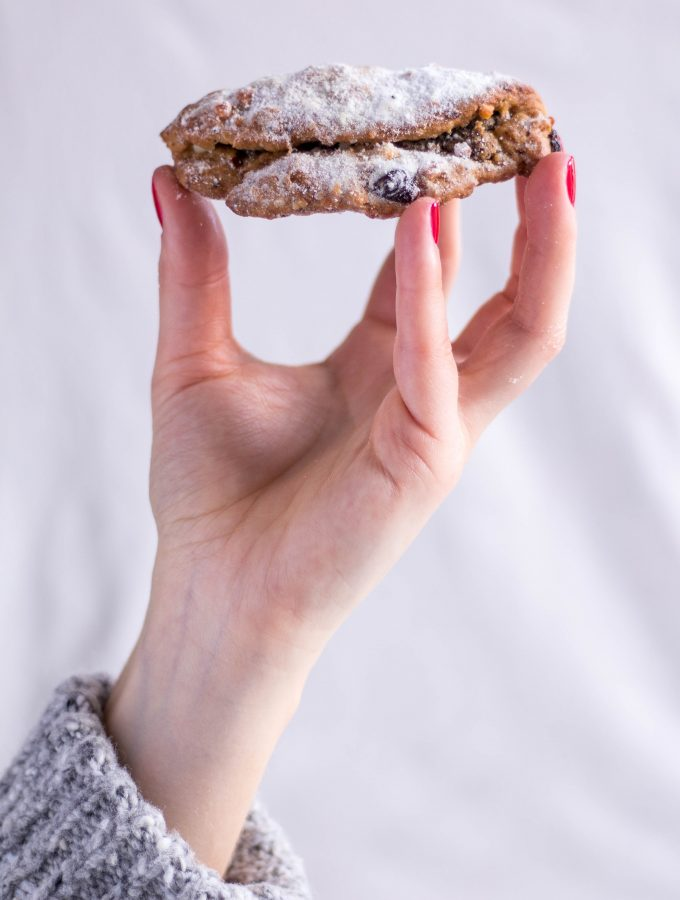 Healthy Stollen (German Christmas Bread) - vegan, plant based, refined sugar free, gluten free option - heavenlynnhealthy.com