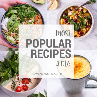 Your most popular recipes 2016 - Heavenlynn Healthy