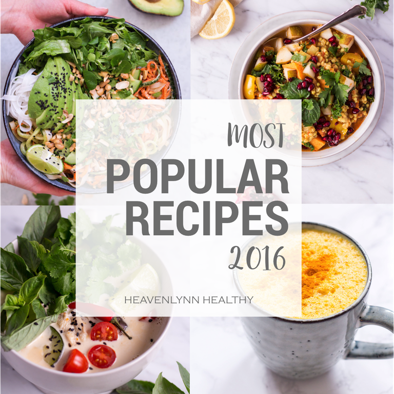 Your most popular recipes 2016 - Heavenlynn Healthy