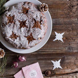 Spiced Holiday Buckwheat Cake - vegan, plant based, gluten free, refined sugar free - heavenlynnhealthy.com