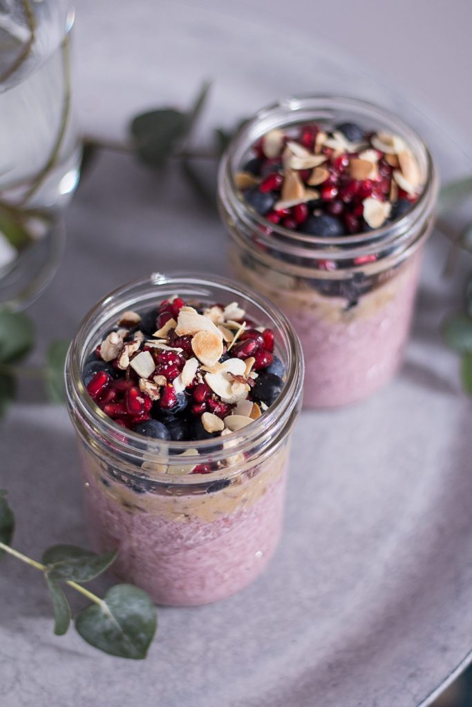 Berry Chia Pudding - Alpro H.A.P.P.Y Challenge - plant-based, vegan, gluten free, refined sugar free - heavenlynnhealthy.com