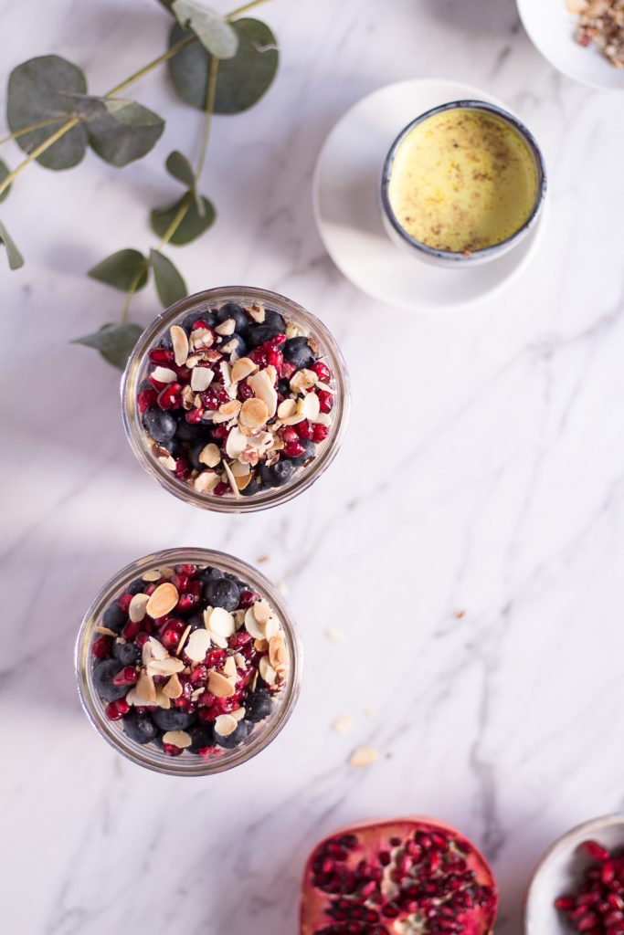 Berry Chia Pudding - Alpro H.A.P.P.Y Challenge - plant-based, vegan, gluten free, refined sugar free - heavenlynnhealthy.com