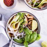 Vegetarian Pho - plant-based, vegan, gluten free, refined sugar free - heavenlynnhealthy.com