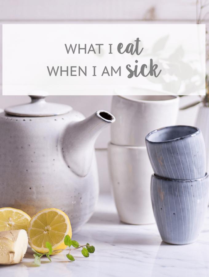 What I Eat When I'm Sick - heavenlynnhealthy.com