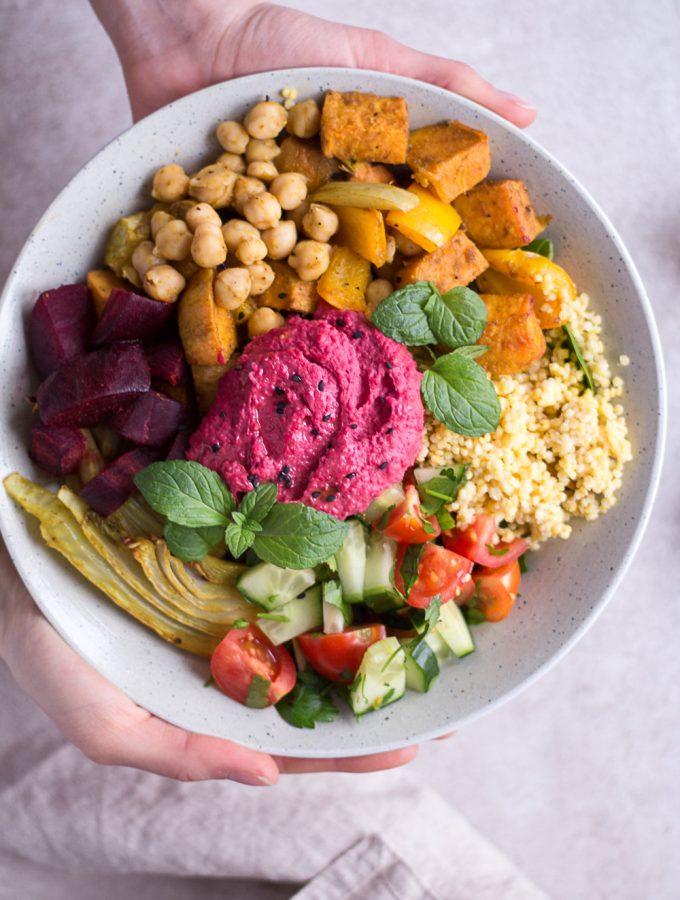 Moroccan Spiced Bowl - plant-based, vegan, gluten free, refined sugar free - heavenlynnhealthy.com