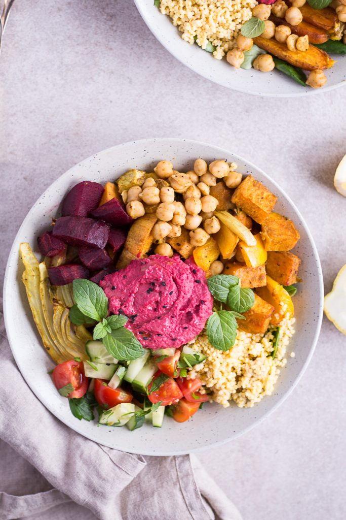 Moroccan Spiced Bowl - plant-based, vegan, gluten free, refined sugar free - heavenlynnhealthy.com