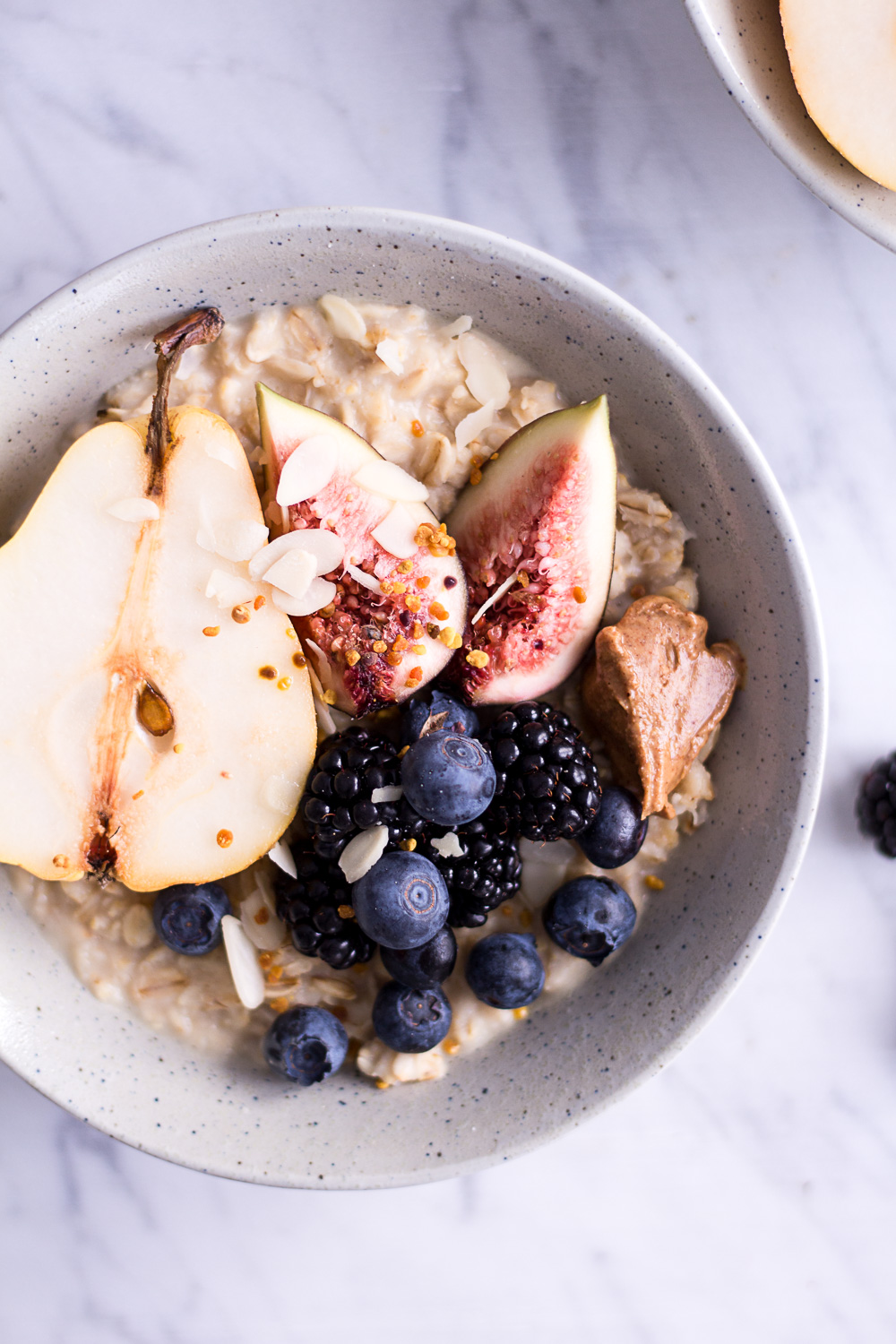 Pear and Hazelnut Porridge