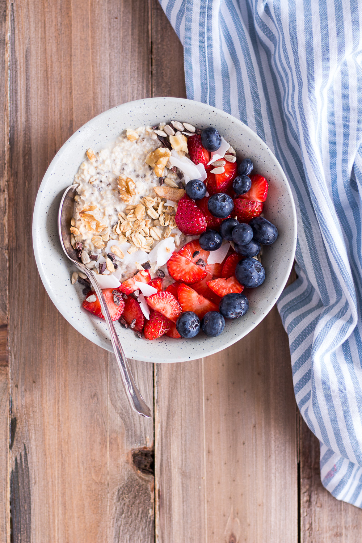 Overnight Oats – my favorite basic recipe