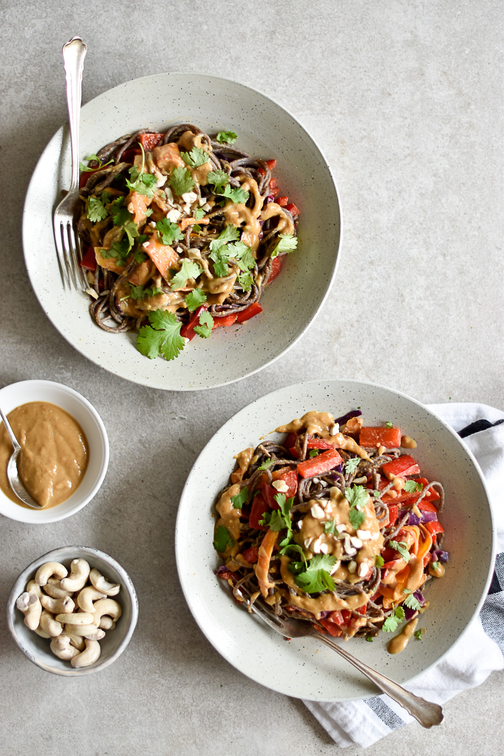 Easy buckwheat miso spaghetti and an Alnavit* giveaway!