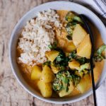 Easy Autumn Curry with (Almost) 5 ingredients