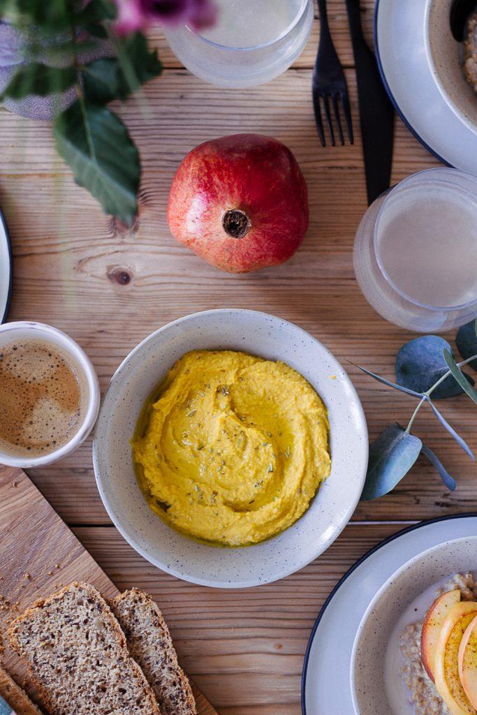 Amazing Pumpkin Hummus - plant-based, vegan, gluten free, refined sugar free - heavenlynnhealthy.com