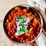 Anti-Flatulence Vegetarian Chili