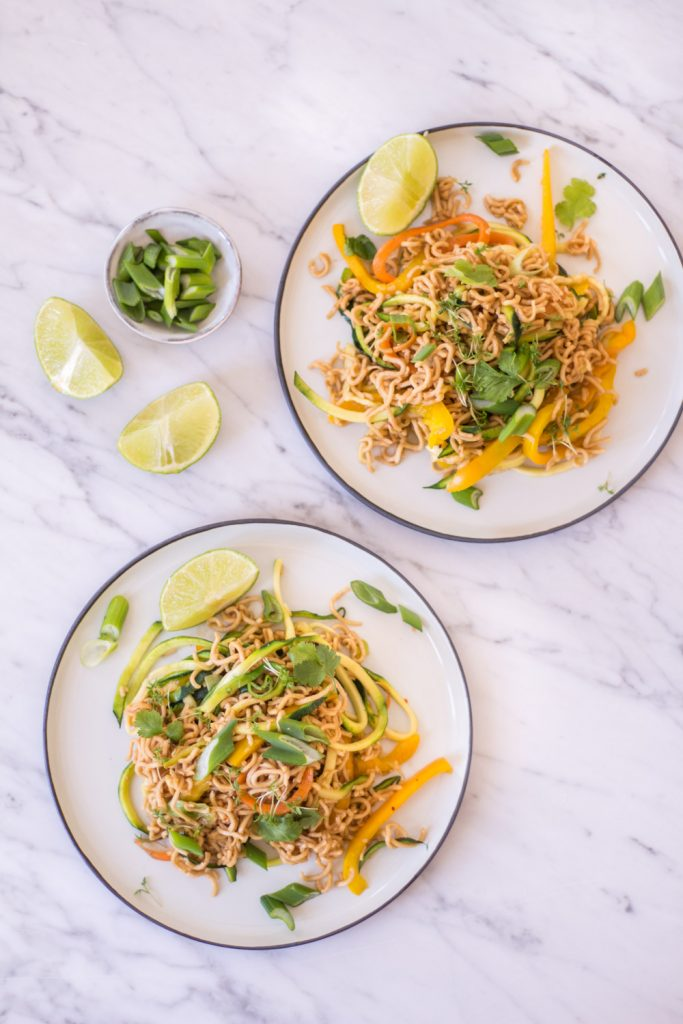 Heavenly Mie Goreng - plant-based, vegan, gluten free, refined sugar free - heavenlynnhealthy.com