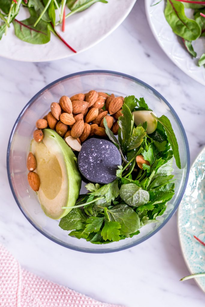 Spring Awakening Glow Salad - plant-based, vegan, gluten free, refined sugar free - heavenlynnhealthy.com