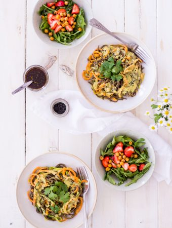 Indian-inspired curry noodles – 30 minute dinners
