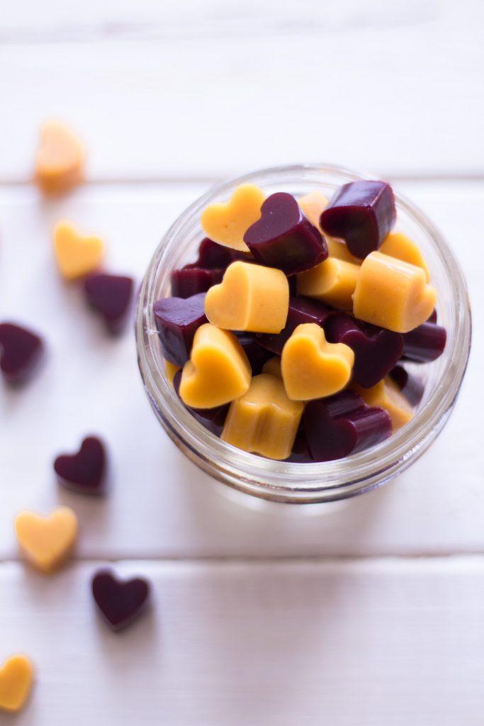 Healthier ginger gummy bears (vegan!) for cold season - plant-based, vegan, gluten free, refined sugar free - heavenlynnhealthy.com