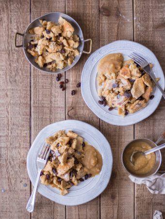 Healthier Kaiserschmarrn (big Austrian pancake bites)