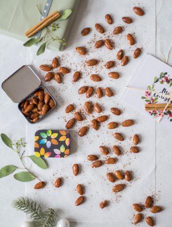 Christmas-spiced & roasted almonds