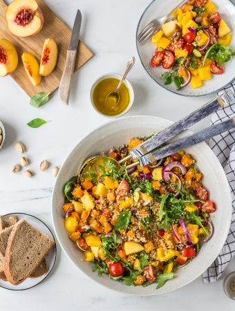 The best quinoa BBQ salad