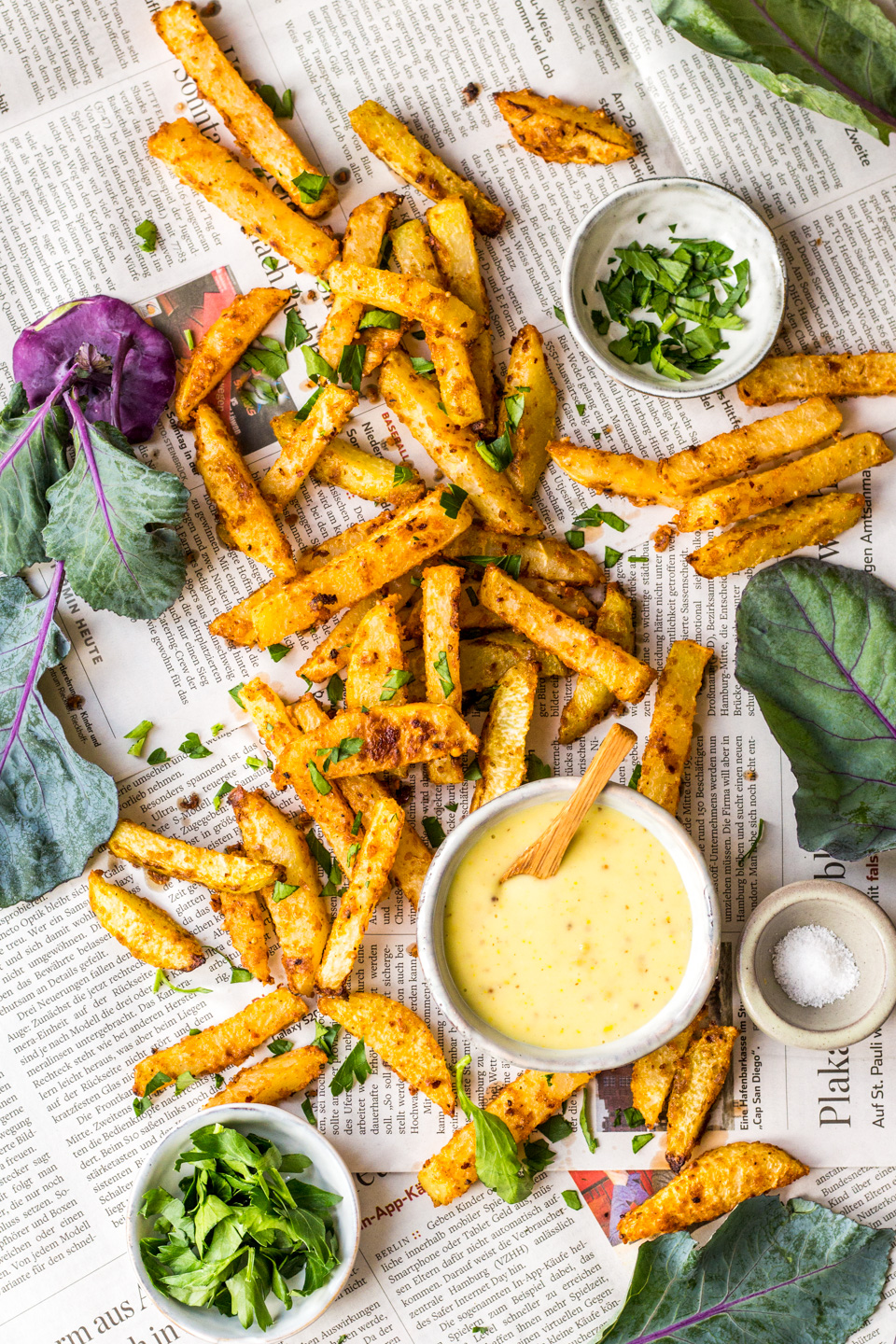 20 Minute Kohlrabi Fries Heavenlynn Healthy